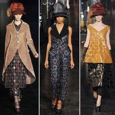 2012 A/W Paris Fashion Week: Louis Vuitton