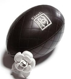 What does a Chanel football have to do with #BlogTourNYC?  Sponsor @SpiritofSports has this same gorgeous marriage of sports-themed art and incredibly chic style.  Read more about this next week @TheAntiquesDiva & Co www.antiquesdiva.com