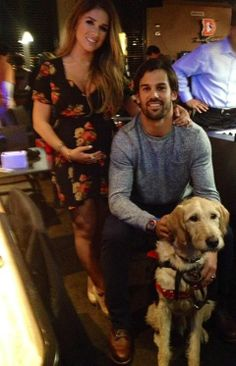Jessie & Eric Decker.. They will have the cutest baby ever... LOVE THIS SHOW!