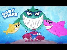 Baby Shark Song - Sing along with this classic kids song about a family of Sharks! Music videos for Children - Rainbow Songs by Howdytoons. Silly Songs, Fun Songs, Kids Songs, Party Songs, Kindergarten Songs, Preschool Music, Music For Kids, Yoga For Kids, Rainbow Songs