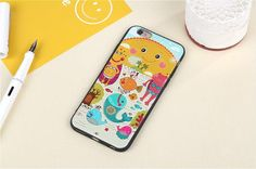 3D Relief Cute Cartoon Cats Fish Pattern Case Regular price $10.99