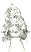 Princess Bubblegum by =nanecakes on deviantART