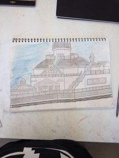 Sketching / Eastbourne Pier