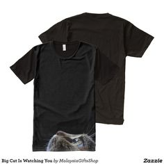Big Cat Is Watching You All-Over Print T-shirt