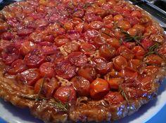 Tarte tatin de tomates cerises : la recette facile
