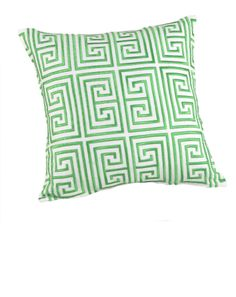 Trina Turk Geometric Decorative Pillow, x Home - Bloomingdale's Coral Throw Pillows, Green Pillows, Modern Pillows, Decorative Pillows, Coral Bedding, Pillow Pals, Twin Comforter Sets, Green Home Decor, Trina Turk