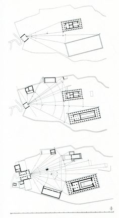 heroandleandro: Relational Spacing in Ancient Greece: Athens, Acropolis I (ca. 530 BC), Acropolis II (ca. 480 BC), & Acropolis III (after 450 BC) Greece Architecture, Paper Architecture, Architecture Drawings, Historical Architecture, Ancient Architecture, Roman Architecture, Architecture Diagrams, Architecture Portfolio, Athens Acropolis