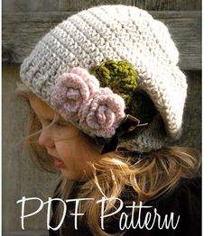 Crochet PATTERNThe Nala Slouchy Toddler Child by Thevelvetacorn, $5.50