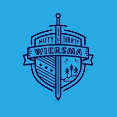 Wiersma Family Crest by Noah Mooney