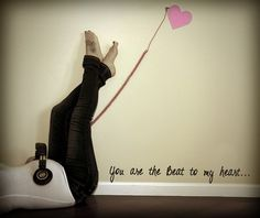 "you are the beat to my heart ""maternity"""