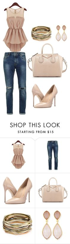 """#5"" by tarik-azra ❤ liked on Polyvore featuring Massimo Matteo, Givenchy, Kendra Scott and Dina Mackney"