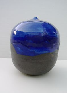 """Toshiko gave this to me many years ago. It had been packed since 1989 in a box used to ship Thai pottery. 5-1/2""""x 5"""""""