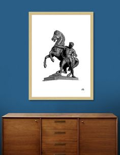 Discover «Bronze Horse Tamer», Limited Edition Fine Art Print by Artur Borisov - From $39 - Curioos
