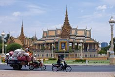 Kaiserpalast von Phnom Chen in Cambodia | The Royal Palace