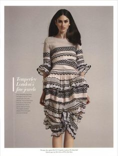 Grazia Luxury UEA - Spring Summer 2015| Temperley London LONG SPERANZA DRESS from Summer '15