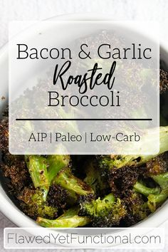 Need an easy vegetable side for dinner tonight? How about fresh roasted veggies on the table in 35 minutes?? Try this simple roasted broccoli that is delicious, healthy, and fits into any diet!