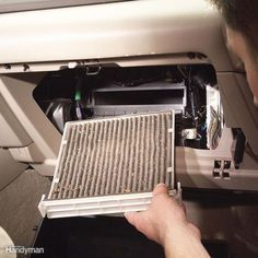 Save big money when you replace a car cabin filter yourself. Learn how to change cabin air filter here. It's quick, easy and a screwdriver is the only tool you need. Car Fix, Car Hacks, Diy Car, Car Shop, Car Cleaning, Cleaning Hacks, Fix You, Used Cars, Vehicles