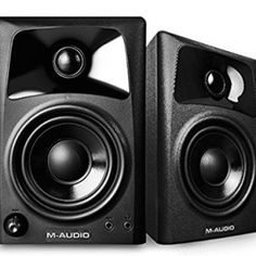 M-Audio 3 Inch Woofer Compact Monitor Speakers for sale online Best Outdoor Speakers, Wireless Outdoor Speakers, Desktop Speakers, Diy Speakers, Bookshelf Speakers, M Audio, Audio Room, Dj Mixing, Compact