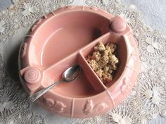 vintage baby food dish, hot water reserve to keep food warm...had one for my first baby!