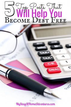 Posts That Will Help You Become Debt Free On 2015 - Taking the financial journey for 2015? Need some motivation on your journey? Here are 5 Top Posts That Will Help You Become Debt Free On 2015.