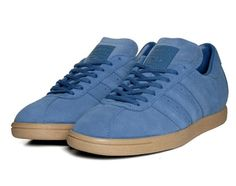 adidas Tobacco Suede Pack - Lone Blue