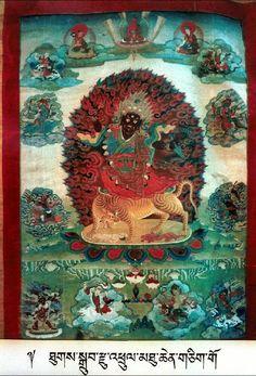 Padmasambhava- Dorje Drolo (Masterworks). Padmasambhava - 8 Forms, Dorje Drolo (item no. 51415291) http://www.himalayanart.org/