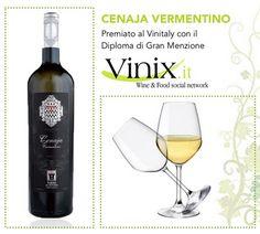 E' arrivata l'estate, Gusti di Toscana ti consiglia il fresco Cenaja Vermentino IGP, premiatoal#Vinitalycon ilDiploma di Gran Menzione! http://www.gustiditoscana.it/vino-e-liquori/wine/torre-a-cenaia-pisa/cenaja-vermentino.html #vino #wine #tradition #prize
