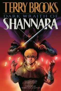 10 best new ya graphic novels images on pinterest comic books dark wraith of shannara terry brooks takes place after the events on the wishsong of shannara as it chronicles the exploits of weapons master garet jax as fandeluxe Choice Image