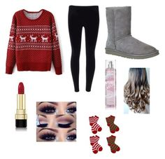 """""""Christmas outfit⛄️"""" by sadiecoda ❤ liked on Polyvore"""