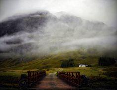 UNDER THE WEATHER(over the bridge) Glencoe, Scotland   by kenny barker, via Flickr