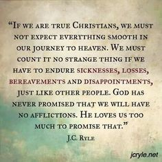 christian quotes | J.C. Ryle quotes | suffering