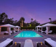 Luxe Sunset Boulevard Hotel, Los Angeles, California, USA.