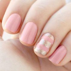 gold & pink