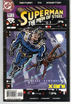 Superman: The Man of Steel #111 April, 2001 DC Comics