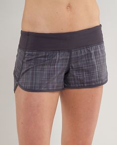 Love Lululemon, especially their speed shorts!!