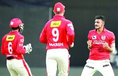 Axar Patel took four wickets in five balls to propel Kings XI Punjab to their second win of the season.