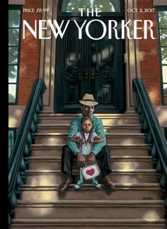 "Françoise Mouly talks to Kadir Nelson about ""Generations,"" his cover for the October issue of The New Yorker. The New Yorker, New Yorker Covers, African American Artist, American Artists, Capas New Yorker, Kadir Nelson, New Yorker Cartoons, Vintage Magazines, Vintage Photos"