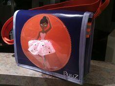 kindergartentasche.... wunsch des kindes: dunkelhäutige balerina mit tüllrock zum anfassen...