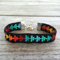 Handmade Beaded Bracelet by GOINGSNAKESILVER on Etsy