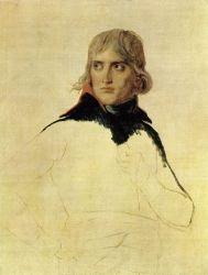 Portrait of Bonaparte - Jacques-Louis David