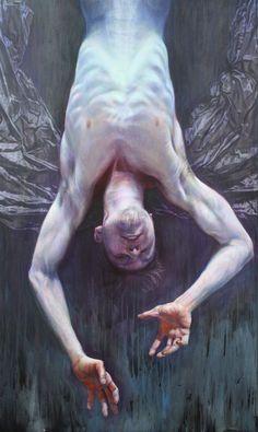 """Icarus"" painting by Yuri Leonov Art Inspo, Painting Inspiration, Ouvrages D'art, Art Et Illustration, Gay Art, Renaissance Art, Art Reference Poses, Surreal Art, Figure Painting"