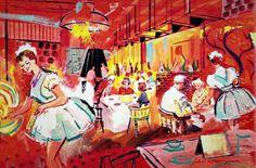 The Pantry Restaurant (1962) via matthunterross