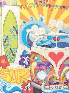 Buy+Surf+Cross+Stitch+Kit+Online+at+www.sewandso.co.uk