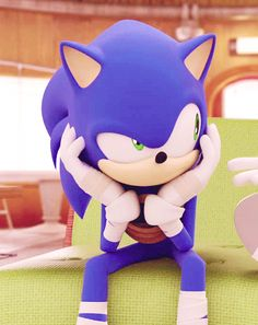 Me talking too someone in my science class.  Sonic the Hedgehog | Sonic Boom!