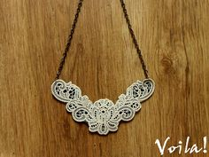 Cool [fashion] hunting: [D.I.Y] Lace Necklace