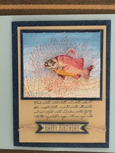 #by the tide #stampin up