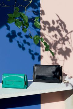 "The Chloé Spring 2015 Accessories Collection – ""Elle"" clutch in nappa lambskin, ""Elle"" bag in nappa lambskin & ayers"