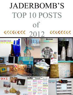 Jaderbomb : Top 10 crafts of 2012