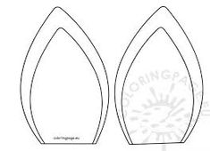 Image result for unicorn ears template