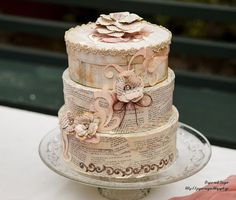 Paper and Sugar Handmade Decorations, Christening, Sugar, Paper, Desserts, Food, Tailgate Desserts, Deserts, Meals